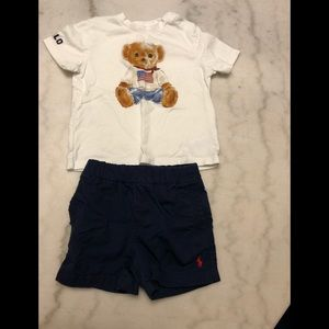Polo infant two pice